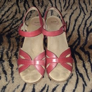 Red Seasons Dansko Sandals 8
